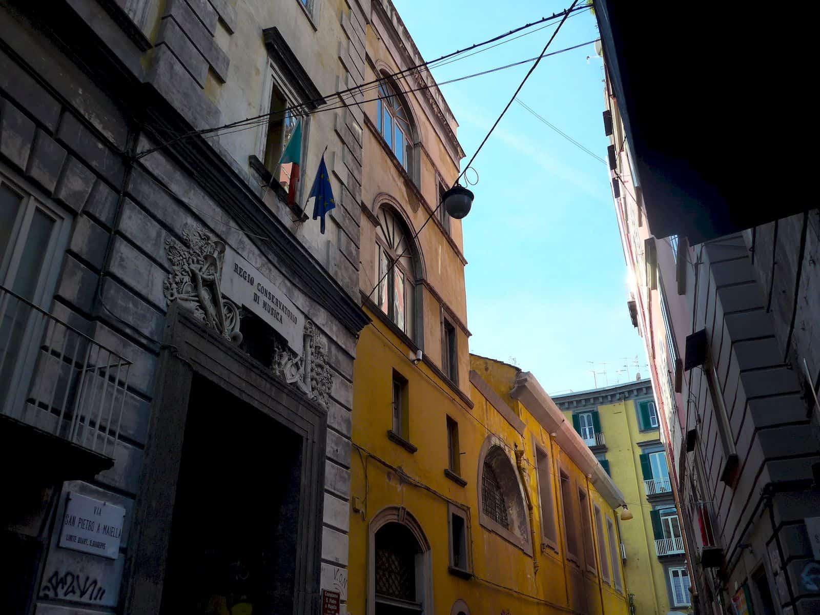 Via San Pietro a Majella
